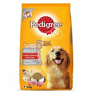 Pedigree Adult Dry Dog Food ,( High Protein Variant) Chicken, Egg & Rice