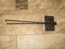 T. Calabrese Waffle Iron, Vintage Cast Iron, Harp Lyre 1926 / MDF Imprints
