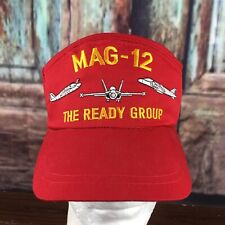 5panel Mag12 Strapbck Cap Aviation Embroidery  Wide Brim
