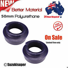 Set of 2 50mm Coil Spring Front Spacer Kit Nissan Patrol GQ GU Y60 Y61 Lift Poly