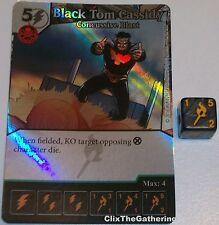 Foil BLACK TOM CASSIDY: CONCUSSIVE BLAST 46 Deadpool Dice Masters