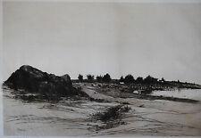 Originaldrucke (1800-1899) aus Nordamerika mit Landschafts-Motiv