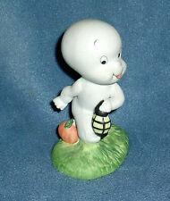 Vintage 1980'S Casper The Friendly Ghost Halloween Figurine Pumpkin & Lantern