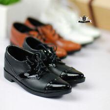 1/4 BJD Shoes Supper Dollfie Shoes MID LUTS AOD DOD EID MSD Leather Shoes 0010