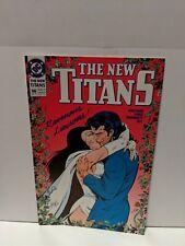 The New Teen Titans #66 May 1990 DC Comics Wolfman Grummett Vey