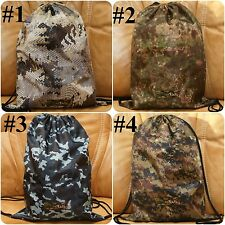 Camo BAG FOR FOOTWEAR BACKPACK Camouflage WOODLAND Military PENCOTT GREENZONE