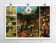 The Last Judgement Hieronymus Bosch Fine Art Rolled Canvas Giclee 32x24 in.