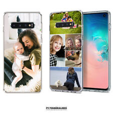 PERSONALISED PHOTO COLLAGE SOFT PHONE CASE COVER SAMSUNG GALAXY S10 S10+ S10E