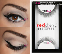 Lot 6 Pairs of AUTHENTIC RED CHERRY #747S Primrose False Eyelashes Strip Lashes