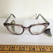Vintage Safety Glasses Side Screens - broken but good steampunk repair project