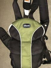 Chicco Ultra Soft Baby Carrier Green And Black Used Once