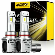 AUXITO 9005 HB3 LED Headlight 60W 24000LM White High Beam Globes 6500K Bulbs Kit