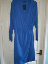Brand new with tag Marks  and Spencer royal blue ress size 18