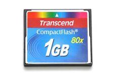 Transcend CompactFlash 80x - CF Karte - 1GB *ZB-606*