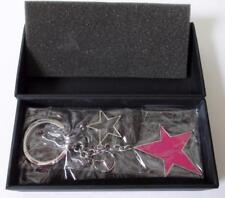 Mercedes-Benz Collection Hong Kong Key Chain Silver,Pink,Black,Stars B6 695 2634