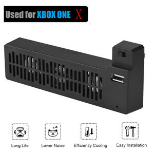 USB External Cooling Fan Cooler 3 Fans DC5V 1A For XBox One X Game Console