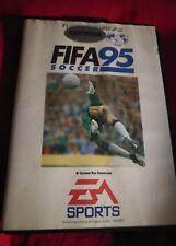 FIFA fútbol 95 MEGADRIVE Génesis juego de fútbol del Reino Unido En Caja