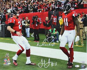 Falcons Matt Ryan & Julio Jones Authentic Signed 16x20 Photo Fanatics & BAS