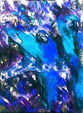 LAVENDER BIRDS.    Canvas Print.  Original, Signed.