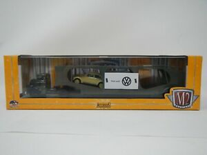 M2 Machines Auto-Haulers 1957 Dodge COE & 1957 VW Beetle Deluxe USA Model S11