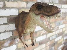 Escultura de pared jardín Estatua Ornamento Tyrannosaurus Rex dinosaurio un Jurassic Park