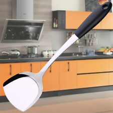 Turner Spatula w/ Long Handle Stainless Steel Cookware Kitchen Cooking Utensil.