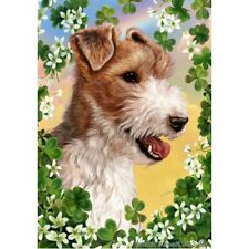 Clover House Flag - Wire Fox Terrier 31067