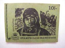 More details for 10/- stamp book - shackleton - no stamps inside