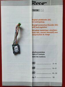 ESU Digitaldecoder LokPilot 1 für Roco – Multiprotokolldecoder