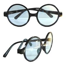 2260f8fd099 Wizard Round Glasses Clear Lens Geek Wheres Wally Harry Potter Fancy Dress