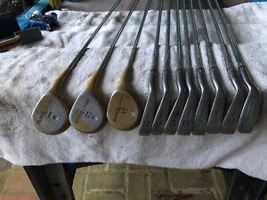 Vintage Wilson Tiara Golf Club Set Ladies 1 3 And 5 Wood (metal) And 3 To Pw