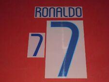 NAMESET FLOCAGE OFFICIEL RONALDO PORTUGAL AWAY 2014/2016