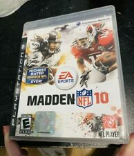 NFL MADDEN 10 PLAYSTATION 3 PS3 Role Playing Video Game Football 291403