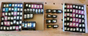 114 leere Druckerpatronen HP + Canon
