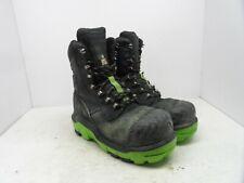 DUNLOP Men's 8'' Composite Toe Composite Plate Leather Work Boots DLNA16100 8.5M