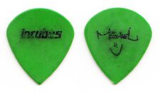 Incubus Mike Einziger Signature Green Teardrop Guitar Pick - 2002 Tour