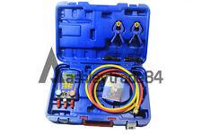 Wk 6889 Digital Testing Manifolds Refrigeration Pressure Vacuum Gauge Meter