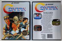 Contra 1 - Nintendo NES Custom Case - *NO GAME*