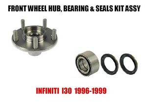 Front Wheel Hub Bearing and Seals Kit Assembly For Infiniti I30 1996-1999