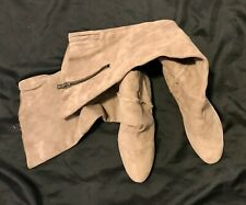 SAM EDELMAN REAL SUEDE OVER THE KNEE BOOTS SLIGHTLY USED SOFT SIZE 10 M COMFE