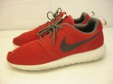 Men's sz 13 M Nike Roshe Run Rosherun University Red Brown Running Shoes Sneaker