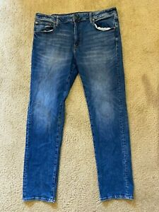 AE American Eagle Next Level Flex Slim Straight Denim Men's Size 38 X 32 NEW