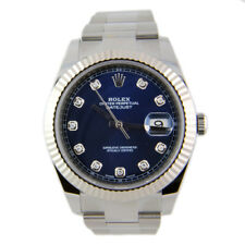 Rolex Datejust 41 126334 18k White Gold Stainless Steel Automatic Mens Watch