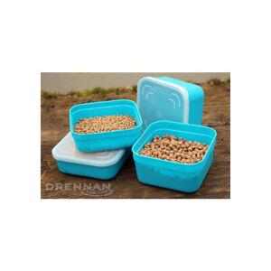 Drennan Pellet Bait Seal Box - 2.2 Pint Aqua