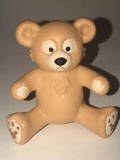 "Disney Hasbro 2003 3"" Vinyl PVC HIDDEN MICKEY BEAR Teddy Duffy Figure Toy"