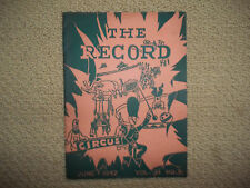 "1942 CAMDEN HIGH NJ HIGH SCHOOL high school ""Record"" Magazine -WWII era!  RARE!!"