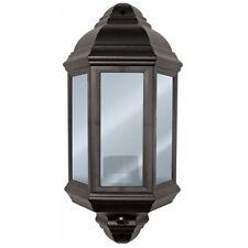 Half Lantern with PIR Black 60W - Eterna PIRHL60BK