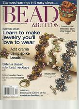 BEAD & BUTTON,   OCTOBER, 2012   ISSUE 111 (   STAMPED EARRING IN 5 EASY STEP )