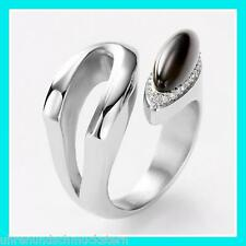 Size 17 Fossil Ladies Ring Stainless Steel 54 (17,2 mm Ø) jf85861
