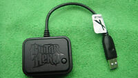 Original BAND GUITAR DRUM HERO WIRELESS DONGLE CONTROLLER / RECEIVER FOR PS3